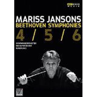 Beethoven:Symphonies 4,5 & 6 [Symphonieorchester des Bayerischen Rundfunks ,Mariss Jansons] [Arthaus: DVD]